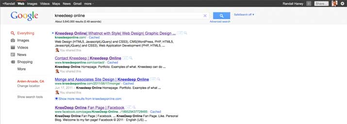 Google Facelift