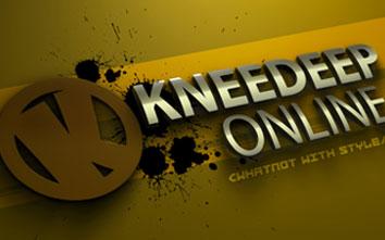 Kneedeep Online Logo November 2010